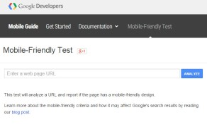 Google mobile friendliness check misleads webmasters